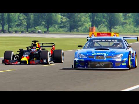 Red Bull F1 2019 Vs Subaru Impreza Time Attack - Top Gear Track