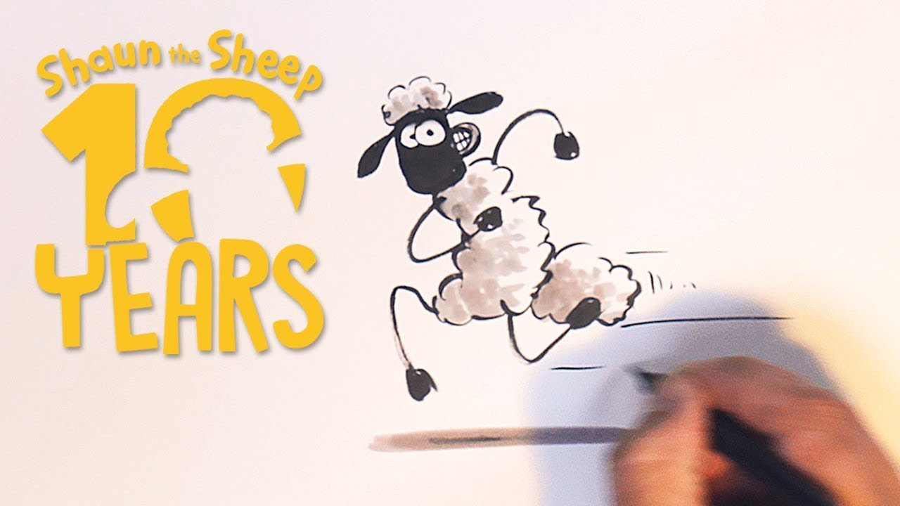 Learn to Draw Shaun the Sheep - Shauns Craft Corner