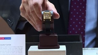 Jackie Kennedy watch up for auction in New York