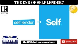 Breaking News: The End Of Self Lender! But Don't Worry! - 2019,MyFICO,Credit Karma,WalletHub