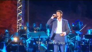 """Nights in White Satin""  Marios Frangoulis and Justin Hayward, Live"