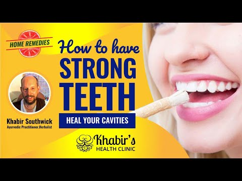 How to naturally make your teeth stronger and remineralize them.