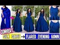 Convert Old Saree Into Prom Gown/Evening Dress In Just 12 Minutes