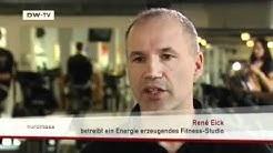 Strom durch Körperkraft: das grüne Fitness-Studio | euromaxx