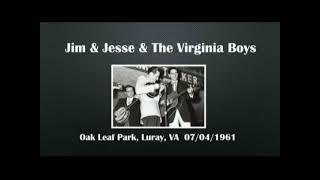 ?CGUBA074?Jim & Jesse & The Virginia Boys  07 / 04 / 1961