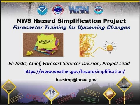 NWS Hazard Simplification Project