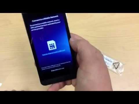 Đập hộp Blackberry Z10 trên thế giới - Di động việt