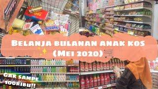 Download Lagu BELANJA BULANAN ANAK KOST || Hemat Banget Gak Sampe 100ribu!! mp3