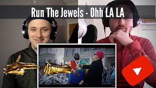 Run The Jewels - Ohh LA LA (Ft. Greg Nice & DJ Premier) - RTJ4 Track 2   Reaction!