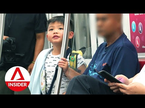 5-year-old Kid Takes The MRT Alone | On The Red Dot | CNA Insider