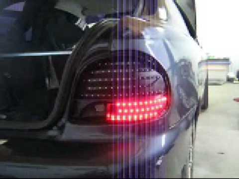 Hyundai Accent X3 Custom Led Taillights Youtube