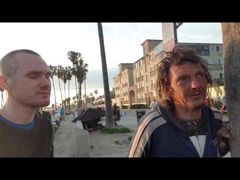 Talk with a homeless writer/poet/person in Venice Beach, part 2