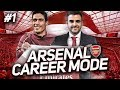 FIFA 19 | ARSENAL CAREER MODE EP1 - The Best FIFA 19 Career Mode Signings #FIFA19