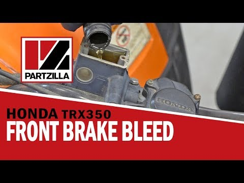How to Bleed the Brakes on an ATV | Honda Rancher 350 | Partzilla.com