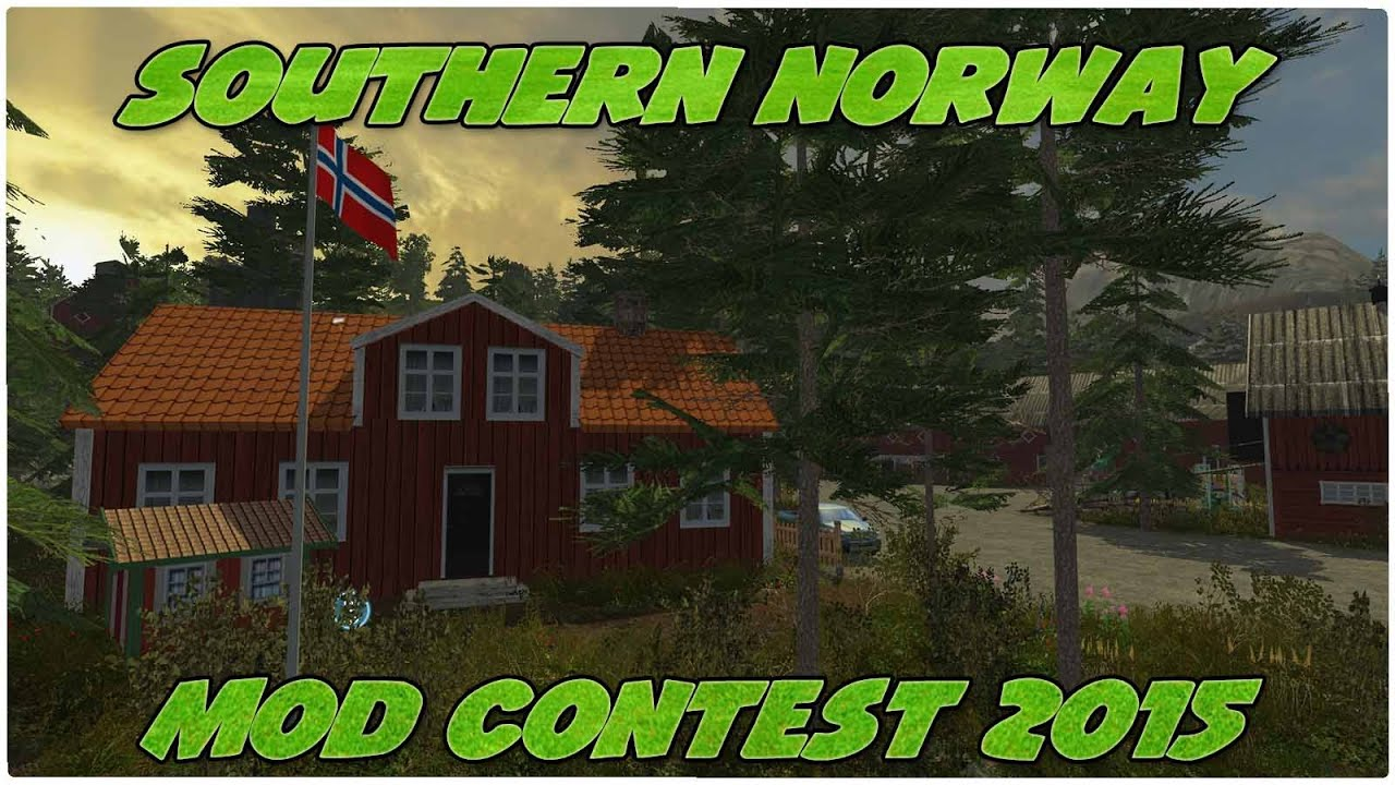 Contest Southern Norway YouTube - Southern norway map ls15