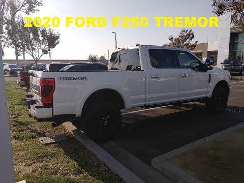2020 FORD F250 TREMOR PLATINIUM WITH 7.3 ENGINE