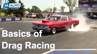 How To: Drag Racing 101 The Basics, Staging The Christmas Tree And The Starting Line