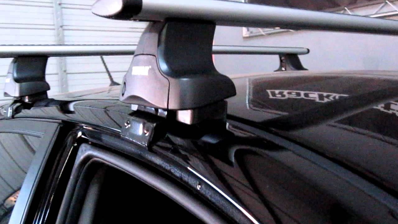 KIA Spectra 5 Door Hatchback Thule Traverse AeroBlade Roof Rack By Rack  Outfitters