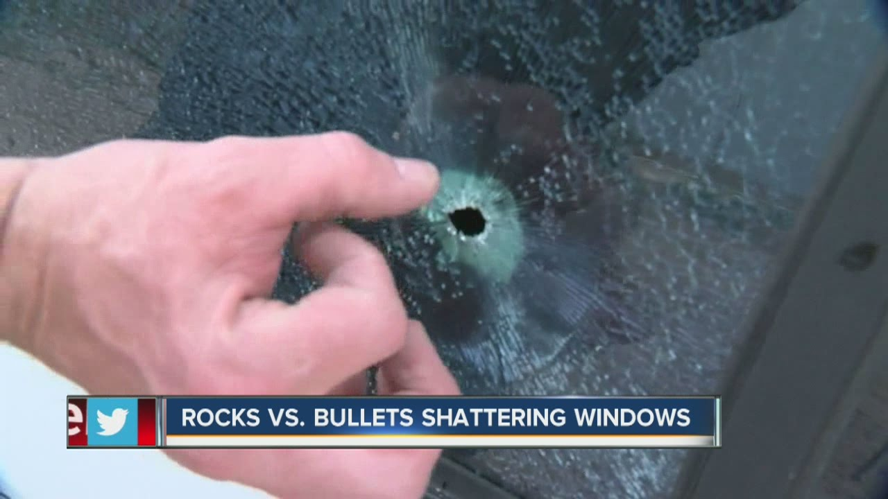 Cana Windows Rocks Vs Bullets A Look At Window Damage