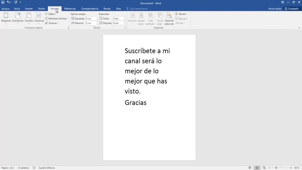 Perfecto Reanudar Márgenes Word Inspiración - Colección De ...
