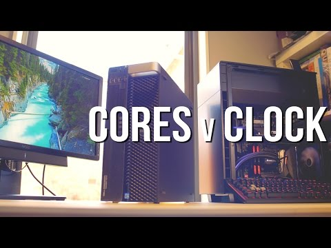 Cores vs Clock Video Editing - Davinci Resolve, Premiere Pro, Photoshop, Cinema 4D, Geekbench.