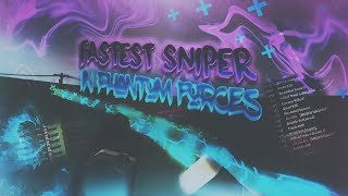 THE FASTEST SNIPER in PHANTOM FORCES!! (roblox)