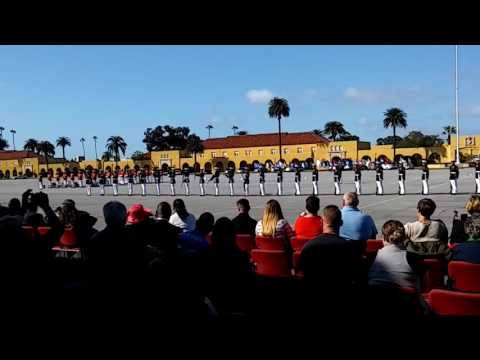 U.S.M.C Silent Drill Platoon, M.C.R.D. 12 March 2016