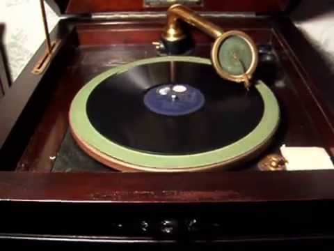 I'm Always Chasing Rainbows - 1919 Vertical Groove OKEH Record