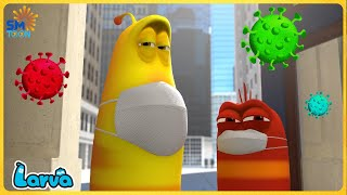 LARVA COVID-19  - Larva Cartoons 2021 | Full Episode Compilation 🍟 Stop Motion Animation Cartoon