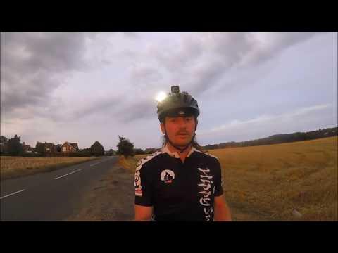 cycling vlog 376 - 500 miles (night riding, storm, floods & metal detecting)