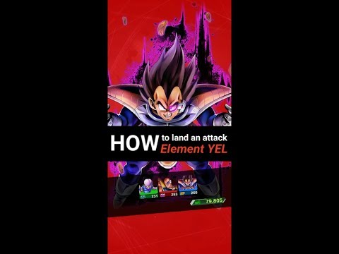 DB Legends - How To Land An Attack 2 Times With Element : YEL Characters?