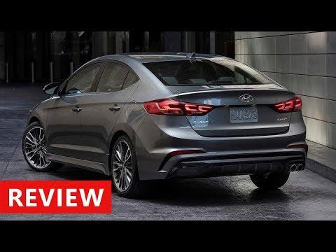 2018 Hyundai Elantra Review Interior Exterior Walkaround