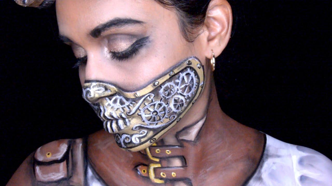 steampunk makeup tutorial youtube