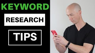 Keyword Research Tips For Amazon Affiliate Niche Sites