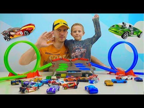 МАШИНКИ. Машинки для детей с треками и трассами. Чудо #Машинки сериал для мальчиков