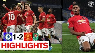 Rashford39s stunning free kick sends United through  Chelsea 1-2 Manchester United  Carabao Cup