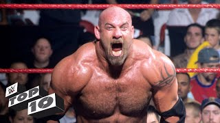 Since his debut in 1997, Goldberg has proven time and again that he is one of the most powerful forces in sports-entertainment. Count down 10 of the most ...