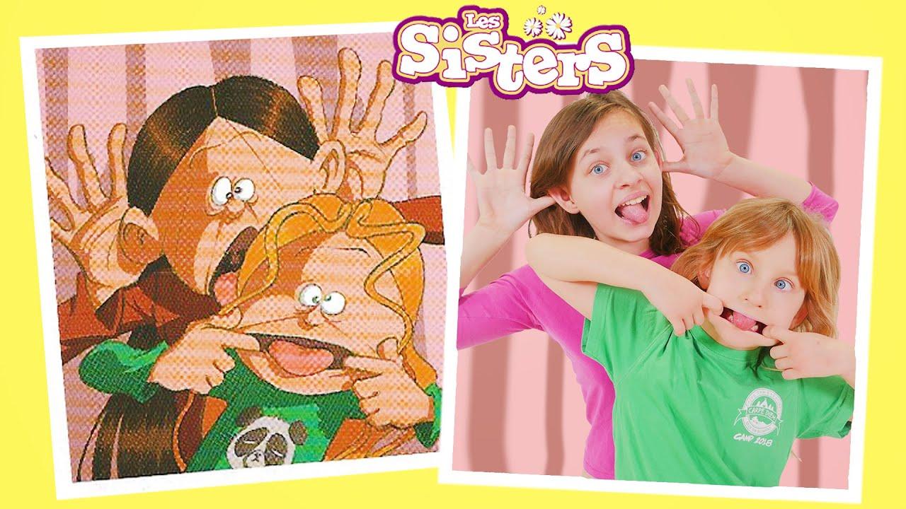 SISTERS STORY • BLOOPERS - LES SISTERS BETISIER COURT-MÉTRAGE BD - Studio Bubble Tea