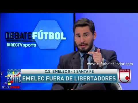 Emelec goleado y humillado se despide de la Libertadores