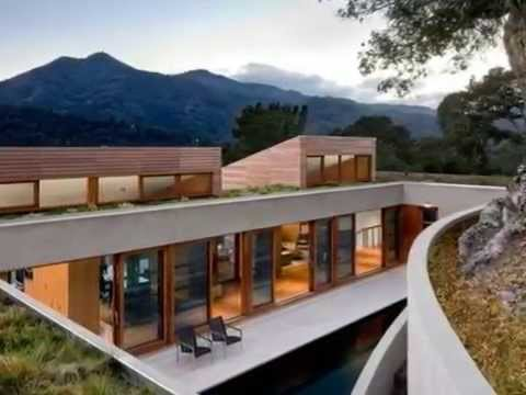 Kentfield Hillside Residence - House Design Style with Roof Merges ...