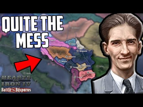 Hearts Of Iron 4 Messed Up Yugoslavia Becomes A Legend