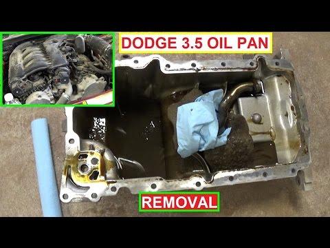 Oil Pan Removal Oil Pan Gasket Dodge Magnum 3.5 Dodge Charger 3.5 Chrysler 300