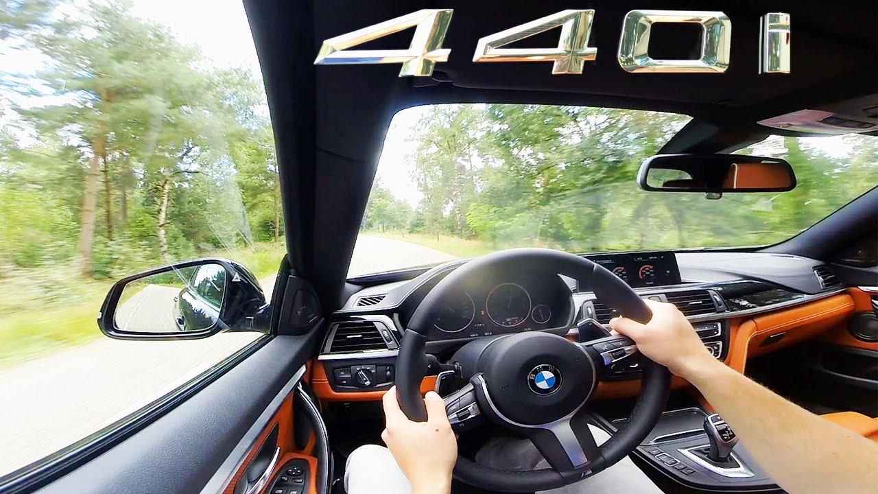 Bmw 440i Gran Coupe 4 Series 2017 Fast Test Drive Onboard Youtube