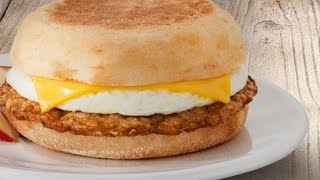 Jimmy Dean Delights Applewood Smoke Chicken Sausage, Egg Whites & Cheese Muffin Sandwiches