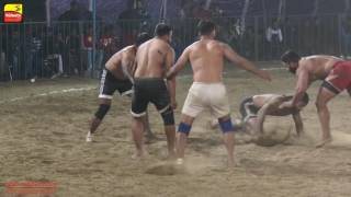 MOKHE (Jalandhar) KABADDI CUP   2016 || 2nd QUARTER FINAL JALALPUR vs  KALESANGHEAN || FULL HD ||