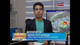 Panayam kay Beni Estareja, weather forecaster, PAGASA