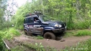 УАЗ Патриот vs Нива Шевроле(Валдай -Демянск., 2015-06-06T23:30:36.000Z)