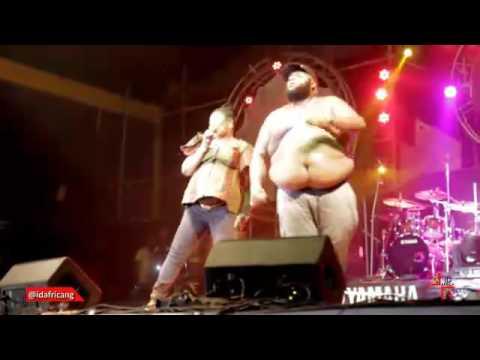 Video: Nigerian Rick Ross With His Big Stomach & Salawa Abeni PerformAtFelabration