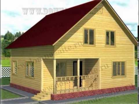 Проекты строительства брусовых домов под ключ от компании дачный рай!. Выберите свой будущий дом из бруса под ключ на нашем сайте!
