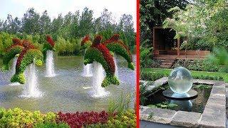 Beautiful Backyard and Garden Waterfall & Pond Ideas Design